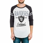 Oakland Raiders All American Raglan