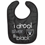 Oakland Raiders All Pro Baby Bib