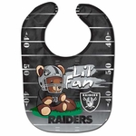 Oakland Raiders All Pro Bear Baby Bib