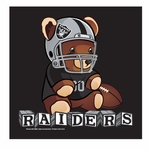 Oakland Raiders All Pro Bear Burp Cloth