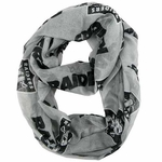 Raiders Alternate Sheer Infinity Scarf