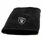 Oakland Raiders Appliqu� Bath Towel