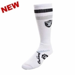 Oakland Raiders Arch Script Sock