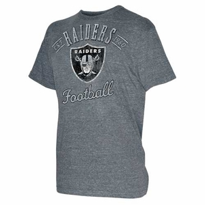 Oakland Raiders Assist Tri Blend Tee - Click to enlarge