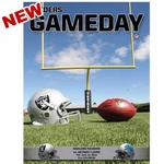 Oakland Raiders August 15th Game Day Program vs. Detroit Lions