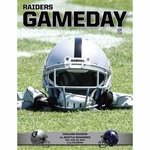 Oakland Raiders August 28th Game Day Program vs. Seattle Seahawks