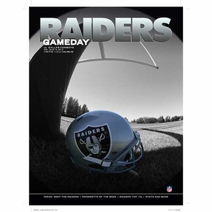 Oakland Raiders August 9th Game Day Program vs. Dallas Cowboys - Click to enlarge