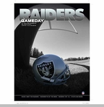 Oakland Raiders August 9th Game Day Program vs. Dallas Cowboys