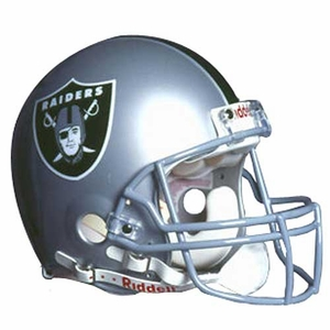 Oakland Raiders Authentic Helmet - Click to enlarge
