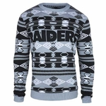 Oakland Raiders Aztec Ugly Sweater