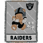 Oakland Raiders Baby Blanket