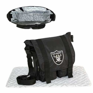 Oakland Raiders Baby Sitter Bag - Click to enlarge