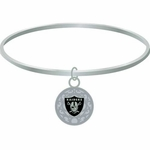 Oakland Raiders Bangle Bracelet
