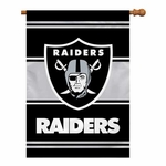 Oakland Raiders Banner House Flag