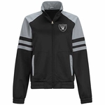 Oakland Raiders Baseline Track Jacket