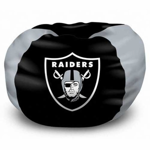 Oakland Raiders Bean Bag - Click to enlarge