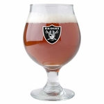Oakland Raiders Belgian Beer Glass