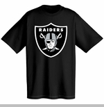 Oakland Raiders Big Shield Logo Tee