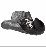 Oakland Raiders Black Cowboy Hat