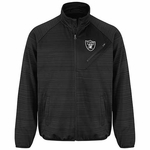 Oakland Raiders Black Full Count Track Jacket