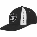 Oakland Raiders Black Snapback Adjustable Cap