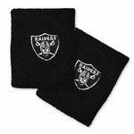 Oakland Raiders Black Wristband
