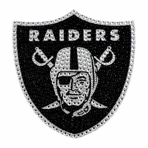 Oakland Raiders Bling Auto Emblem - Click to enlarge