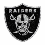 Oakland Raiders Bling Auto Emblem