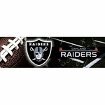 Oakland Raiders Bling Bumper Sticker
