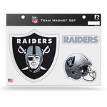 Oakland Raiders Bling Team Magnet Set
