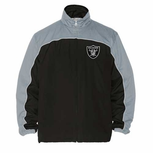 Oakland Raiders Blitz Full Zip Jacket - Click to enlarge