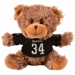 Oakland Raiders Bo Jackson Seated Jersey Bear