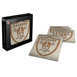 Oakland Raiders Boasters Coasters