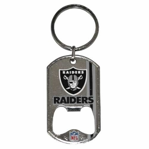 Oakland Raiders Bottlecap Bottle Opener - Click to enlarge