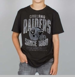 Oakland Raiders Boys Punt Tee