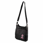 Oakland Raiders Breast Cancer Awareness Sheen Cross Bag