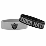 Oakland Raiders Bulk Bandz Two Pack