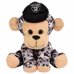 Oakland Raiders Camouflage Monkey