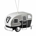 Oakland Raiders Camper Ornament