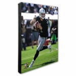 Oakland Raiders Canvas 16x20 Carr Photo