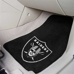 Oakland Raiders Car Carpet Mat Set - Click to enlarge