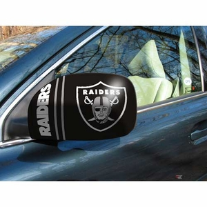 Oakland Raiders Car Mirror Cover - Click to enlarge