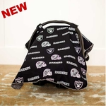 Oakland Raiders Car Seat Canopy
