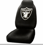 Oakland Raiders Car Seat Cover