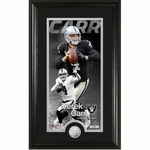 Oakland Raiders Carr Supreme Photo With Mint Plaque