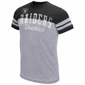Oakland Raiders Carry Short Sleeve Tee - Click to enlarge