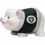 Oakland Raiders Ceramic Piggy Bank