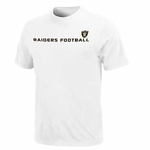 Oakland Raiders Chop Block Short Sleeve Tee