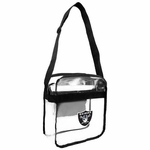 Oakland Raiders Clear Cross body Bag