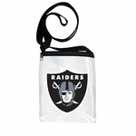 Oakland Raiders Clear Game Day Pouch